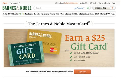 How To Apply For The Barnes And Noble Credit Card