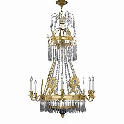 Chandelier Russian Glass Decorative Cut Lamps Nice