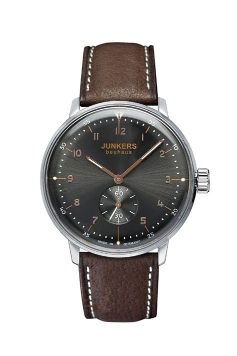 News: New Junkers Bauhaus 6030-2 and 6030-5 watches