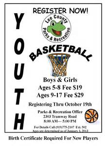 Youth Basketball Camp Flyer