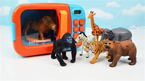 zoo animals schleich toys wild names learn