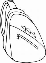 Backpack Coloring Pages Printable Colouring Comments Sheet Getcoloringpages Getcolorings Sh sketch template