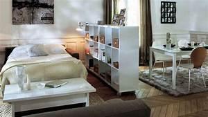 petits espaces amenager un coin chambre dans son salon With coin chambre dans salon