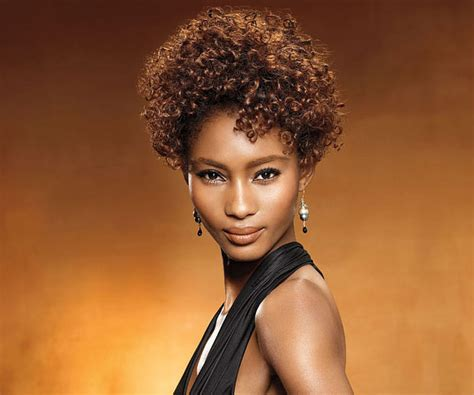 Black Hairstyle Majestic Short Curly Hairstyles For Women