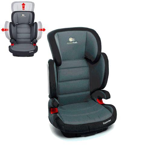 si鑒e rehausseur voiture kinderkraft siège auto rehausseur isofix expander groupe 2 3 15 à 36kg noir