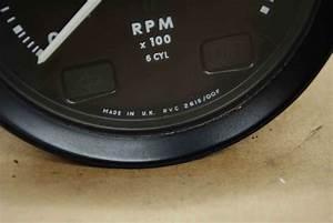 Jaguar Xj6 Tach Gauge Rvc 2615  00f Tachometer