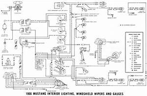 1965 Mustang Wiring Diagram For Lighting