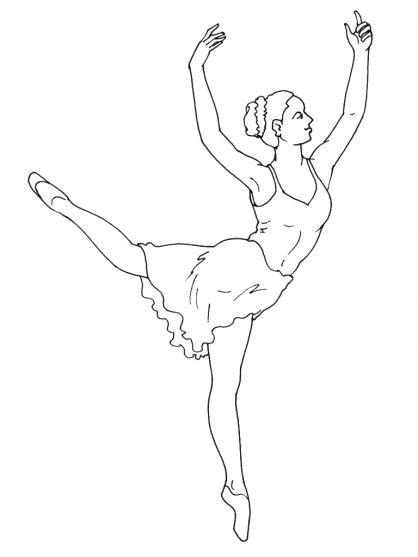 dessin de danseuse moderne jazz coloriage 195 dessiner danseuse moderne jazz
