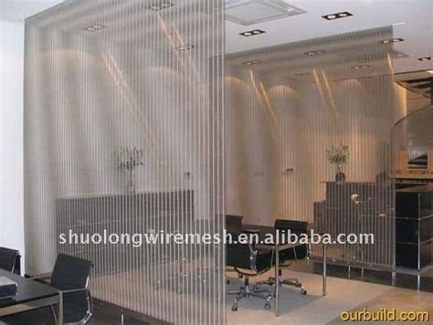 slzsw  stainless steel wire mesh screen room divider