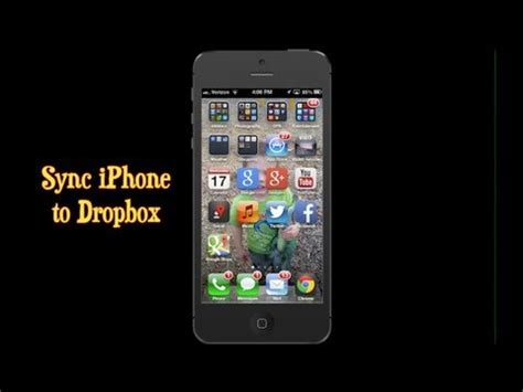 sync iphone to dropbox iphone app how to sync iphone photos to dropbox