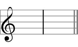 A measure contains a fixed number of beats and is marked off by a on sheet music a bar line divides each measure from another. A Complete List of Music Symbols With Their Meaning