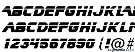 blade runner  font font   legionfonts