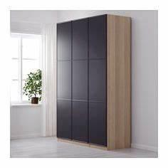 Ikea Pax Schranktüren : pax kleiderschrank eicheneff wlas mer ker grau schlafzimmer kleiderschrank pax ~ Eleganceandgraceweddings.com Haus und Dekorationen