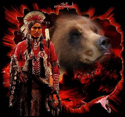 Native American Gifs Animated Bear Giphy Indians