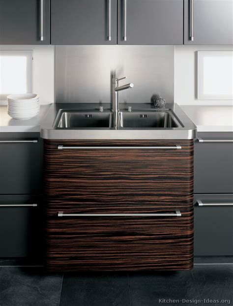 Pictures of Kitchens Modern Dark Wood Kitchens (Page 3)