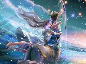 CG/Fantasy - Zodiac Signs Sagittarius - iPad iPhone HD ...