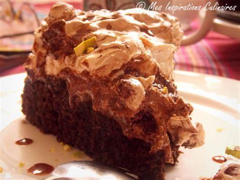 jeux de cuisine de gateau au chocolat gâteau au chocolat meringué le cuisine de samar