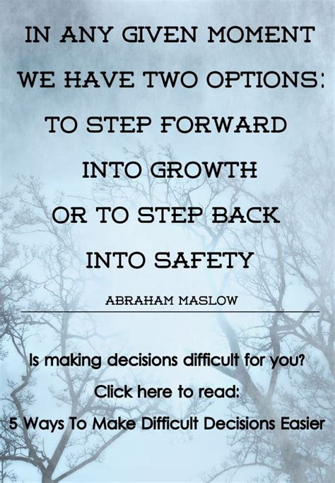 Difficult Decision by 5 Ways To Make Difficult Decisions Easier Peace