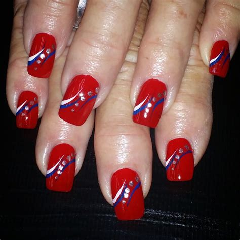 patriotic nail art designs ideas design trends