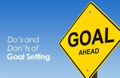 dos  donts  goal setting sparkpeople
