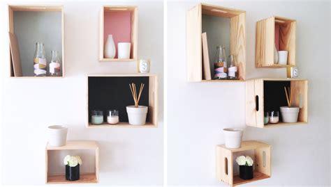 deco scandinave chambre comment fabriquer une étagère diy soi même