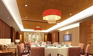 Great Restaurant Ceiling Design Idea Includes Having A