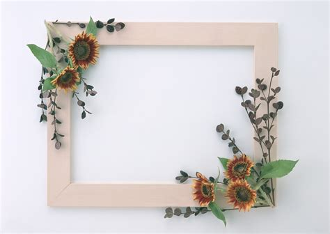 photo frames com free beautiful stylish flowers photo frames