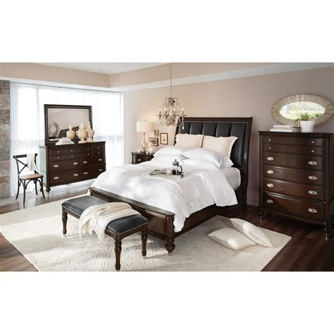American Signature Bedroom Furniture by Esquire Nightstand Merlot American Signature Furniture