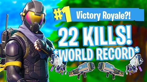 world record kill streak  fortnite battle royale