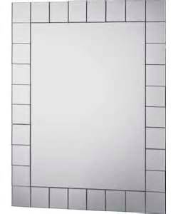 collection mosaic rectangular bathroom mirror
