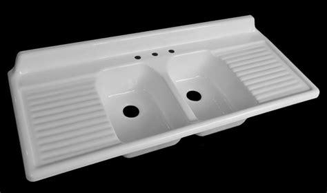 porcelain kitchen sink with drainboard porcelain kitchen sinks with drainboard