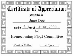 free certificate of appreciation template downloads - new free printable pdf certificates certificate templates