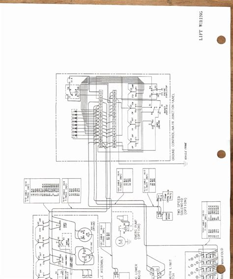 versalift bucket truck wiring diagram gallery