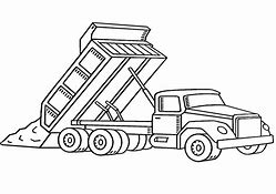 Images for construction truck coloring pages for kids ...