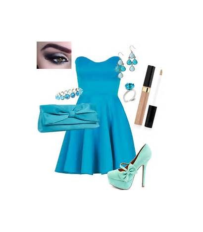 Polyvore Fancy Outfit Romantic Summer Outfits Monochromatic
