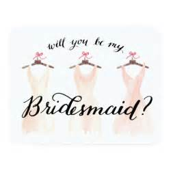 be my bridesmaid will you be my bridesmaid watercolor dresses 11 cm x 14 cm invitation card zazzle