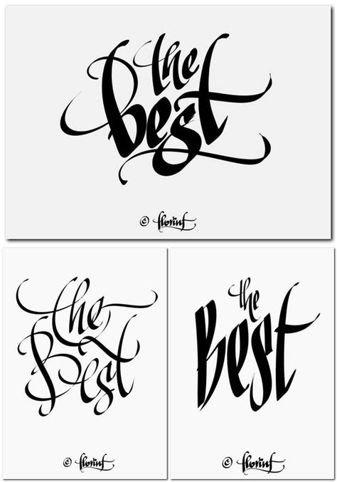 calligraphy  behance