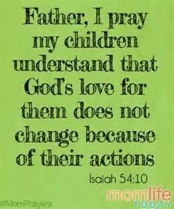 Love My Children Prayer