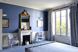 Chambre Bleu Nuit : bleu de nuit c0141 mires paris ~ Melissatoandfro.com Idées de Décoration