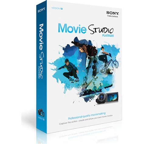 Sony Movie Studio Platinum Suite 12 KSPMS120SL3 B&H Photo