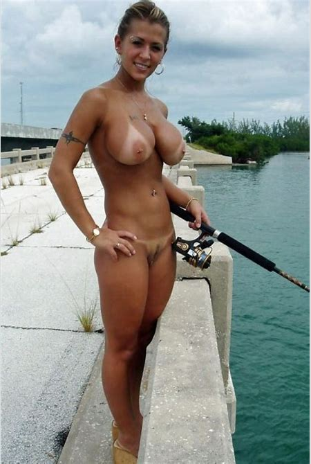 Valerie Cormier Fishing Naked Along The Highway - Hot ...
