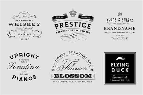 check  vintage logo  insignia set  vatesdesign