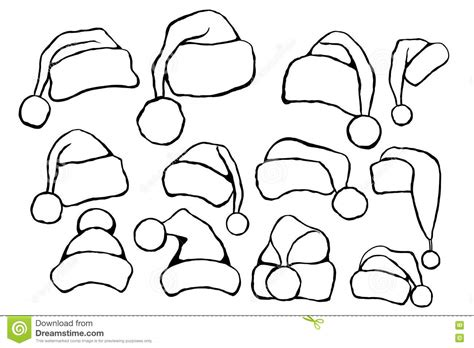christmas head template the head of santa claus template cards for christmas