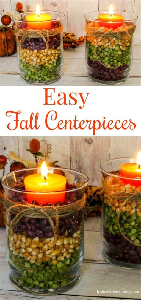 Easy Fall Table Centerpieces  Harvest Centerpieces