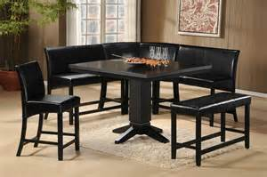 corner dining room set papario 7pc corner nook counter height dining set dallas tx dining room sets furniture nation