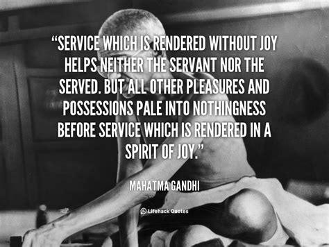 gandhi quotes service   quotesgram