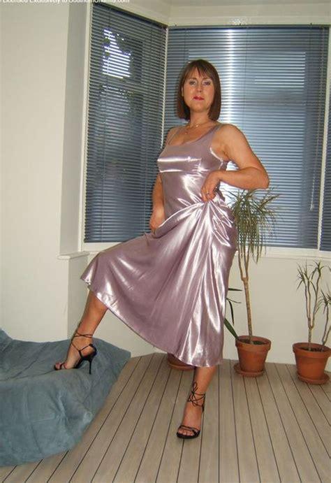 Pin By Bjarne On Satin Party Dress Satin Dress Long