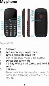 Jethro Sc318 Jethro 3g Senior Cell Phone User Manual
