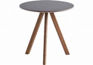 Linoleum Für Tischplatte : copenhague round table cph20 couchtisch mit tischplatte aus linoleum hay milia shop ~ Markanthonyermac.com Haus und Dekorationen
