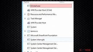Remove Oinstall Exe  Removal Instructions